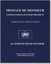 Message from Mister Leopold Sedar Sengho... by Senghor, Léopold Sédar
