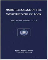 More (Language of the Mossi Tribe) Phras... by Assemblies of God