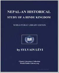 Nepal - An Historical Study of A Hindu K... by Lévi, Sylvain