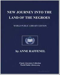 New Journey into The Land of The Negroes by Raffenel, Anne