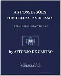 Portuguese Possessions in Oceania by Castro, Affonso de