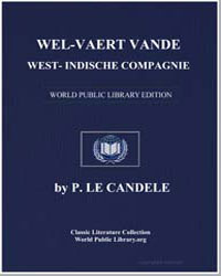 Prosperity of the West India Company by Candele, P. le