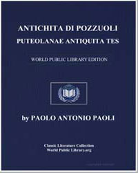 Remains of the Antiquities Existing in P... by Paoli, Paolo Antonio