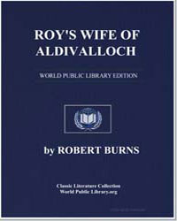 Roy's Wife of Aldivalloch: To Which is A... by Burns, Robert
