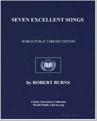 Seven Excellent Songs: Fair Eliza; Helen... by Burns, Robert