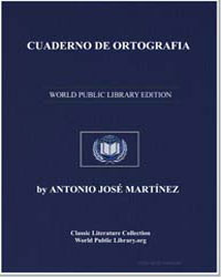 Spelling Book for the Children of the Ma... by Martínez, Antonio José