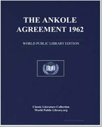 The Ankole Agreement, 1962 by Great Britain