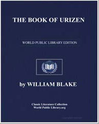 The Book of Urizen by Blake, William