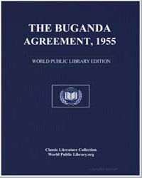 The Buganda Agreement, 1955 by Great Britain