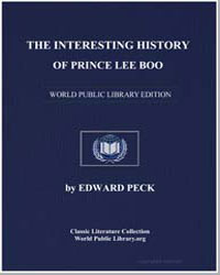 The Interesting History of Prince Lee Bo... by Peck, Edward