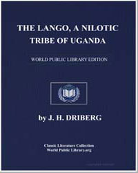 The Lango A Nilotic Tribe of Uganda by Driberg, Jack Herbert