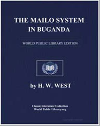 The Mailo System in Buganda: A Prelimina... by West, Henry W.
