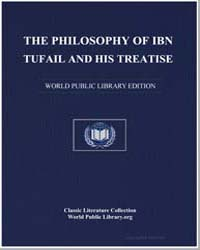 The Philosophy of ibn Tufail and His Tre... by Maḥmūd, Abd al-Ḥalīm