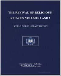 The Revival of Religious Sciences, Volum... by Al-Aydarous, Abdulqadir ibn Sheikh