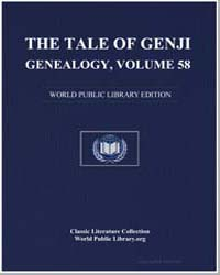 The Tale of Genji Genealogy, Volume 58 by Murasaki Shikibu
