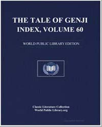 The Tale of Genji Index, Volume 60 by Murasaki Shikibu