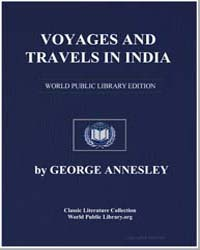 Voyages and Travels in India, Ceylon, Th... by Annesley, George