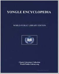 Yongle Encyclopedia by Xie, Jin