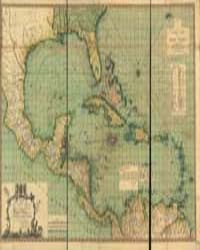 A General Chart of the West Indies: With... by Speer, Joseph Smith