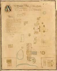A Ground Plan of the Works and Buildings... by Baker, J. H.