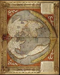 A Modern and Complete Map of the World b... by Finé, Oronce,