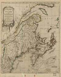A New Map of Nova Scotia, and Cape Breto... by Jefferys, Thomas