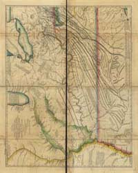 A New Map of the Western Parts of Virgin... by Hutchins, Thomas
