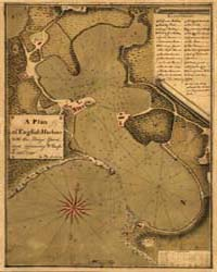 A Plan of English Harbour by Martel, Peter
