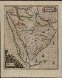 Arabia by Blaeu, Willem Janszoon