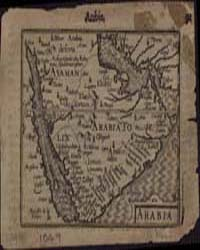 Arabia by Hondius, Jodocus