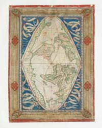 Cosmographical Map or Universal Descript... by Cossin, Jean