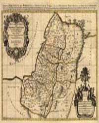 Judaea, or the Holy Land, Which is Divid... by Sanson, Guillaume
