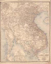 Map of Indochina by Cupet, Pierre-Paul