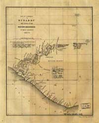 Map of a Journey to Musardu, the Capital... by Anderson, Benjamin J. K.
