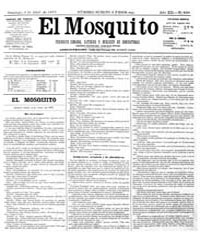 El Mosquito, April 1875 Volume Issue: April 1875 by Stein, Henri Frenchman