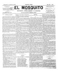 El Mosquito, April 1877 Volume Issue: April 1877 by Stein, Henri Frenchman