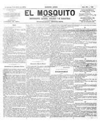 El Mosquito, April 1878 Volume Issue: April 1878 by Stein, Henri Frenchman