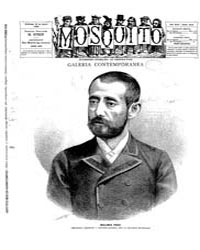 El Mosquito, April 1888 Volume Issue: April 1888 by Stein, Henri Frenchman