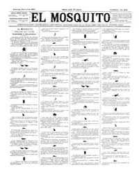 El Mosquito, April 1893 Volume Issue: April 1893 by Stein, Henri Frenchman