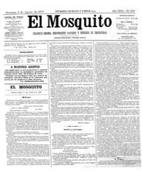 El Mosquito, August 1875 Volume Issue: August 1875 by Stein, Henri Frenchman