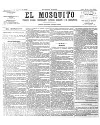 El Mosquito, August 1876 Volume Issue: August 1876 by Stein, Henri Frenchman