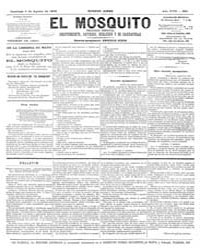 El Mosquito, August 1879 Volume Issue: August 1879 by Stein, Henri Frenchman