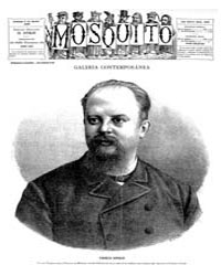 El Mosquito, August 1886 Volume Issue: August 1886 by Stein, Henri Frenchman