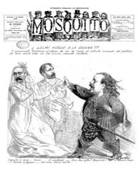 El Mosquito, August 1887 Volume Issue: August 1887 by Stein, Henri Frenchman