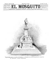 El Mosquito, August 1892 Volume Issue: August 1892 by Stein, Henri Frenchman