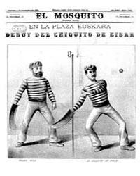 El Mosquito, December 1884 Volume Issue: December 1884 by Stein, Henri Frenchman