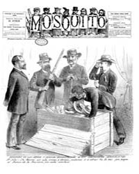 El Mosquito, December 1886 Volume Issue: December 1886 by Stein, Henri Frenchman