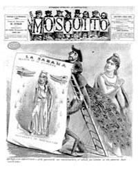 El Mosquito, December 1887 Volume Issue: December 1887 by Stein, Henri Frenchman