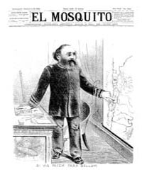 El Mosquito, December 1892 Volume Issue: December 1892 by Stein, Henri Frenchman
