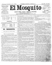El Mosquito, February 1875 Volume Issue: February 1875 by Stein, Henri Frenchman